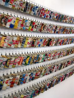 Minneapolis-based firm, Studio on Fire, also has an extensive beer can collection.