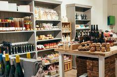 Ladengeschäft in Landau, Theaterstrasse. Für kulinarische Souvenirs. Geschenke aus der Pfalz, Landhausstil -Deko. Versand nach Neustadt, Speyer, Kaiserslautern, Berlin und und....