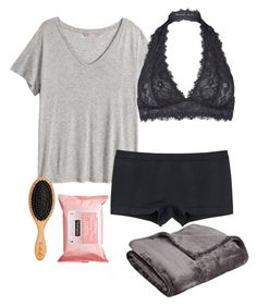 """""""Untitled #14"""" by cannjoy on Polyvore featuring H&M, Uniqlo, Free People, Neutrogena and Northpoint"""