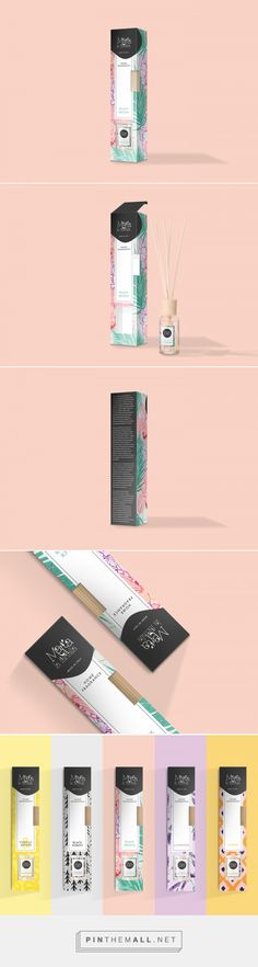 Marta La Farfalla Home Fragrance by Adoratorio Creative Collective. Source: Behance. Pin curated by #SFields99 #packaging #design