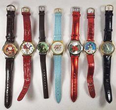 Christmas Decorated Estate Lot Of 7 Unisex Wristwatches Quartz  #A-93-17  #christmas #christmas