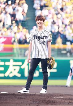 first pitch: jungkook