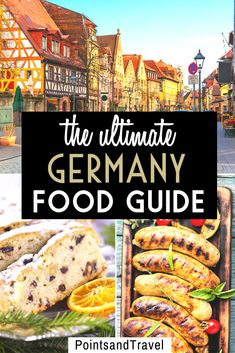 The Ultimate Germany Food Guide: the best foods to eat in Germany. German food is hearty and delicious. And not only beer pretzels and bratwurst! This is your ultimate guide to German food. What to eat in Germany! Visit Germany, Germany Travel, Europe Travel Tips, European Travel, Europe Europe, Travel Guides, Travel Destinations, Traditional German Food, Good Foods To Eat