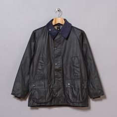 Barbour Classic Bedale in Navy