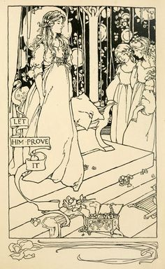 The flower princess' by Abbie Farwell Brown, illustrated by Margaret Ely Webb. Published 1904 by Houghton, Miffin & Co
