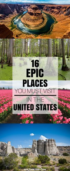 16 Epic Places in the United States Even Americans Don't Know About|Pinterest: @theculturetrip #ad