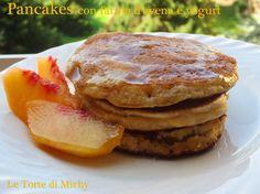 Pancakes con farina d'avena e yogurt | Le Torte di Michy
