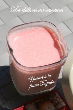 De délices en saveurs: Yaourts à la fraise Tagada® Thermomix Desserts, Vegan Ice Cream, Eat Dessert First, Milkshake, Kids Meals, Creme, Cooking Tips, Yogurt, Deserts