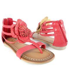 Kids' summer fashion trends 2012 - Girls Flat Sandals