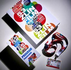 ZLÍN FILM FESTIVAL - Visual identity by Dynamo design, photo of printed realization by w:u studio Visual Identity, Paper Design, Film Festival, Graphic Design, Studio, Printed, Corporate Design, Studios, Prints