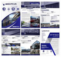 Company Profile Designers South Africa   Order Yours Now   Web Devine Brochure Design Layouts, Brochure Template, Layout Design, Flyer Template, Design Design, Corporate Profile, Business Profile, Company Profile Design, Booklet Design