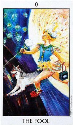 The Fool - Tarot of the Spirit. I love working with this deck