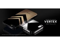 More-Thing Vertex Metallic Hülle für iPhone - www. Rose Gold Top, Samsung, 5s Cases, Iphone 5s, Silver, Metallic, Stylish, Slipcovers, Money