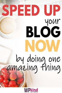 It can be very frustrating to find your blog speed is slow, and blog traffic goes down. Today I will talk about exactly how to speed up your WordPress blog immediately with just one plugin.   #wordpressspeed #bloggingtips #bloggingforbeginners #wordpresstutorials #wordpresstips Make Blog, How To Start A Blog, Make Money Blogging, How To Make Money, Wordpress Admin, Blogging For Beginners, Good Advice, Blog Tips, Tutorials