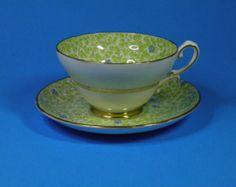 Stanley English Bone China Tea Cup and Saucer Set