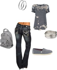 """""""grey"""" by weelo225 on Polyvore"""