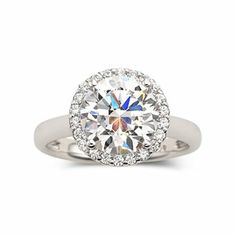 Great DiamonArt Cubic Zirconia Engagement Ring jcpenney