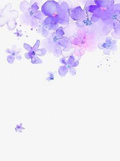 Purple Watercolor Flower Floating M Watercolor Flower Background, Flower Background Wallpaper, Watercolor Wallpaper, Colorful Wallpaper, Purple Backgrounds, Flower Backgrounds, Wallpaper Backgrounds, Flower Frame, Flower Art