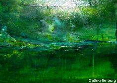 #Cuadro abstracto #taller de abstractos  Celina #Emborg -  E mail: mandalasdeluz@hotmail.com