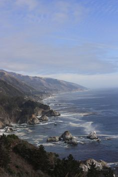 Pacific Coast Highway - Love the crash of the waves