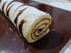 RULADA+DE+COCOS+CU+NUTELLA Nutella, Deserts, Cooking Recipes, Ethnic Recipes, Chef Recipes, Postres, Dessert, Desserts