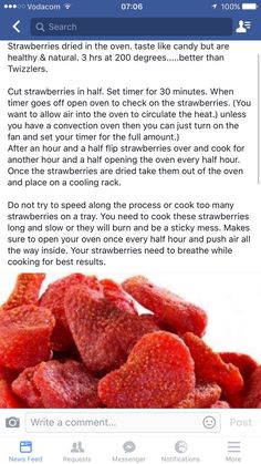 Making strawberry treats is part of Strawberry treats - Making strawberry treats Source by guineapigbelle Vegan Recipes, Snack Recipes, Dessert Recipes, Cooking Recipes, Healthy Treats, Healthy Desserts, Healthy Strawberry Recipes, Strawberry Snacks, Fruit Snacks