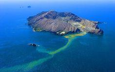 Nova Zelândia - Descoberto em 1769 pelo mítico capitão inglês, James Cook, o vulcão foi batizado de