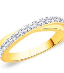 Buy Gold Cubic Zirconia rings Ring online