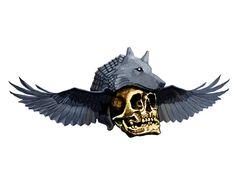 """Check out new work on my @Behance portfolio: """"skull shaman"""" http://on.be.net/1BUv4Uv"""