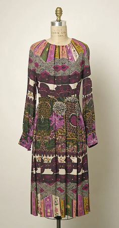 Ensemble by Valentino, 1970-71 (dress)                                             Valentino