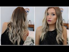 How to reverse balayage technique to add depth to overly blonde diy 20 at home hair balayageombre tutorial youtube solutioingenieria Choice Image