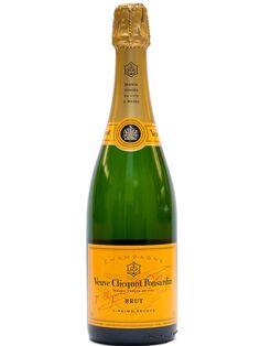 Veuve Clicquot Brut Yellow Label Champagne (Engraved Bottle)   spiritedgifts.com