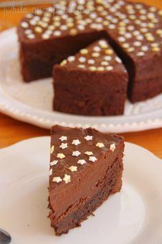 Philo aux fourneaux: Gâteau d'anniversaire double chocolat de Mercotte