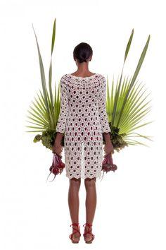 Helen Rodel Crochet Fashion Spring Summer 2015  