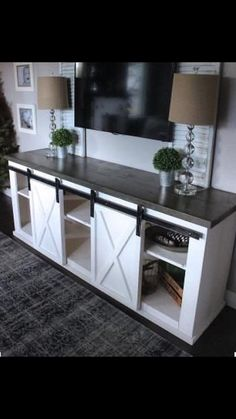 Hey, I found this really awesome Etsy listing at https://www.etsy.com/listing/507271331/rustic-industrial-barn-door-console