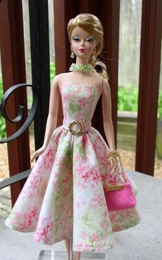 Barbie Dress for Silkstone Barbie  Barbie by shahabdolldesigns, $33.50