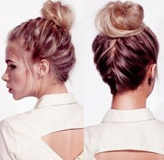 Super cute ideas for vacation hair! 5 Hot-Weather Hair Ideas to Rock for Labor Day