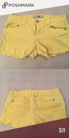 Yellow cut off shorts Love these, just too big for me now. Jolt Shorts