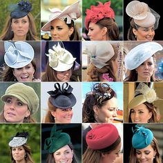 katemiddletons:  Duchess of Cambriddge's hats and fascinators