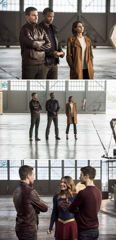 "Team Arrow in #TheFlash #3x078 ""Invasion"" - Crossover stills"
