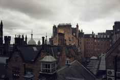 "i-doll: ""0910; the roofs of Edinburgh """