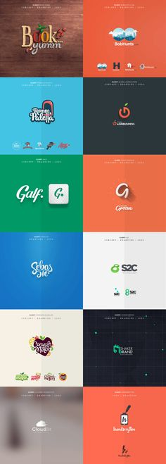 A collection of logos, graphics, and icons created by Fixed Agency, a creative team based in New York City.