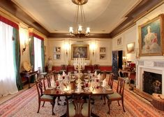 A new virtual tour of Prince Charles' London residence gives fans a rare glimpse into royal life Prince Charles Sons, King William Iv, Clarence House, Royal Residence, Royal Life, Elegant Dining, Story House, Virtual Tour, Old Houses