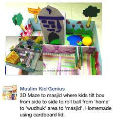 Masjid Maze from Muslim Kids Genius FB