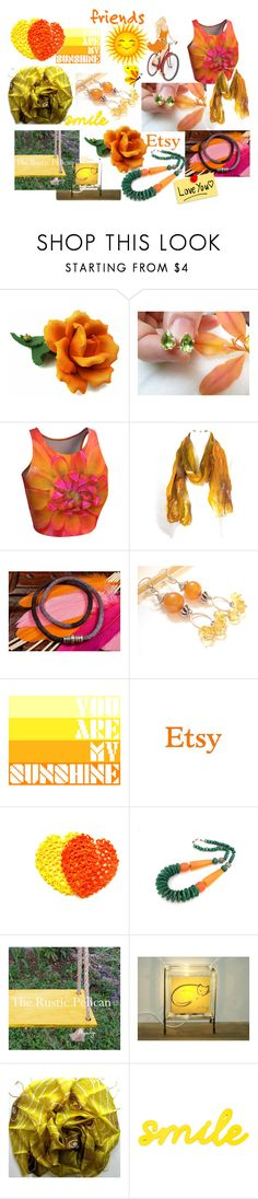 """You Are My Sunshine"" by anna-recycle ❤ liked on Polyvore featuring modern, rustic and vintage"