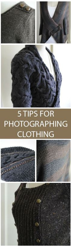 5 Tips for Photographing Clothing