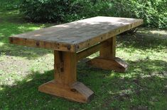 """""""Dining Table""""-Inspired by Southwestern Furniture Design/Pine/Stained/Hand-waxed/Mexican Rustic Conchos - SOLD Rustic Kitchen Tables, Dinning Room Tables, Trestle Dining Tables, Metal Dining Table, Rustic Table, Farmhouse Table, Rustic Wood, Farm Tables, Timber Furniture"""
