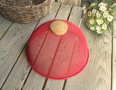 Pink Dessert Bowls - Set of 5 - French Vintage Glass Bowls ...