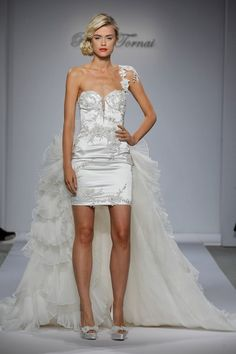 I just could not decide whether to wear a long gown or a short one.....These dresses are all over $5000 !