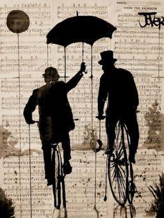 Umbrellas of Jover by Loui Jover